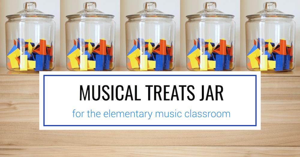 Musical Treat Jar