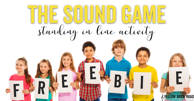 The Sound Game and a Freebie
