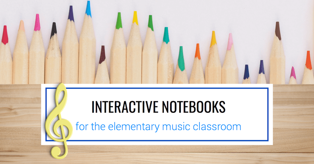 Interactive Notebooks in Elementary Music