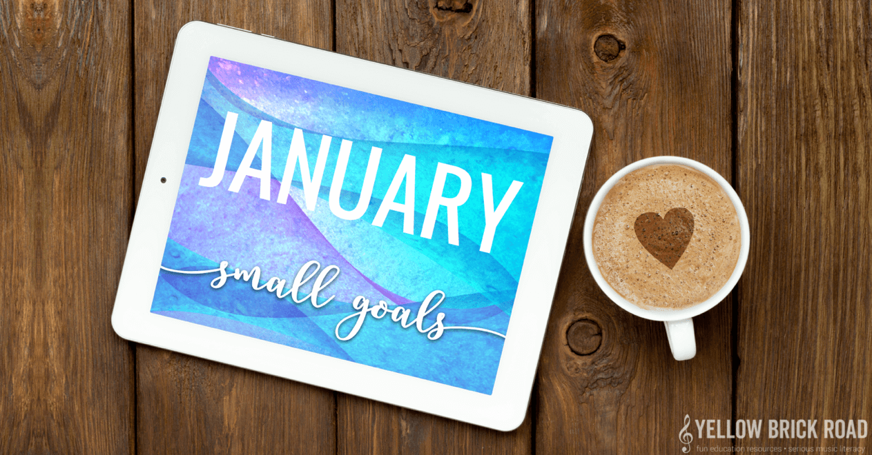 January Small Goals