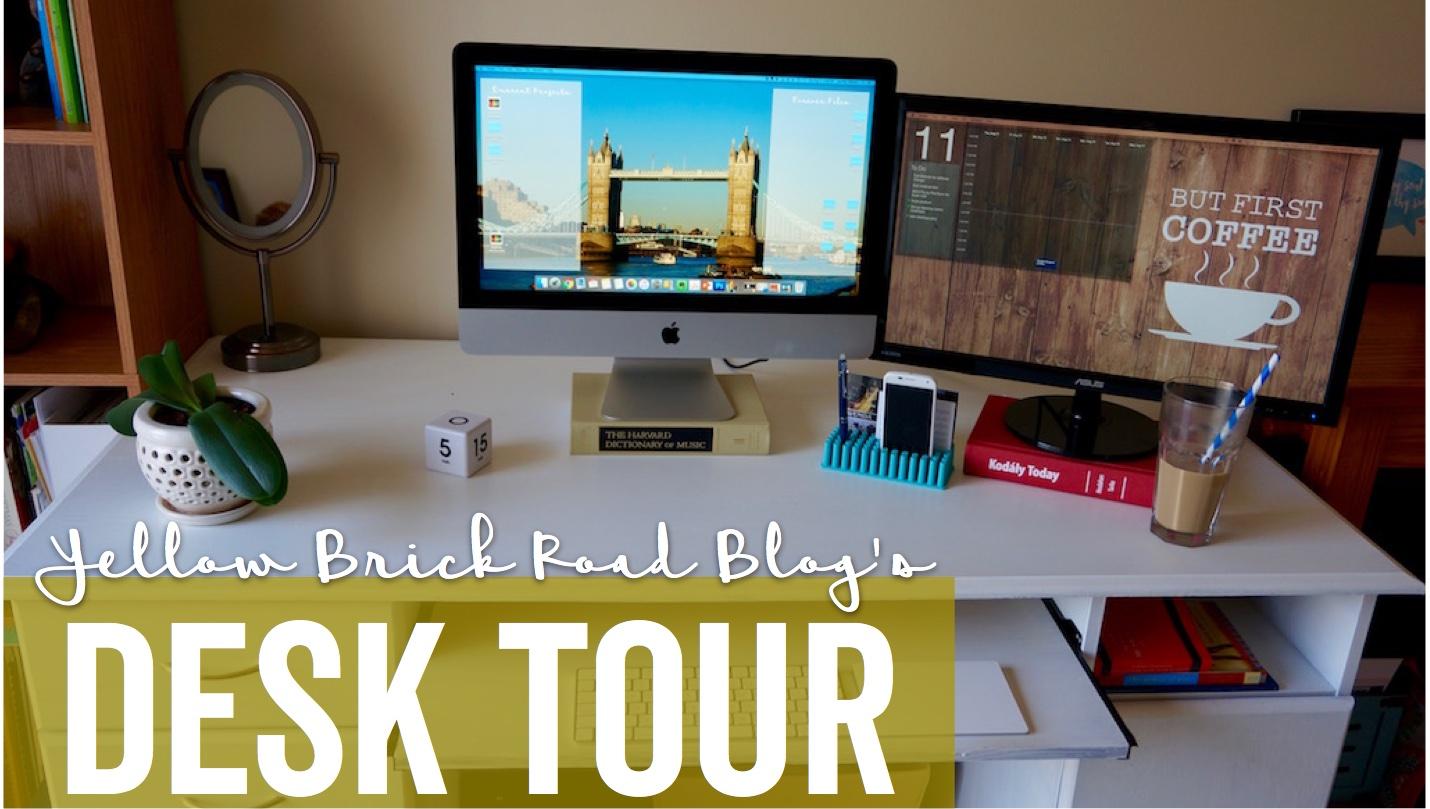 Desk Tour