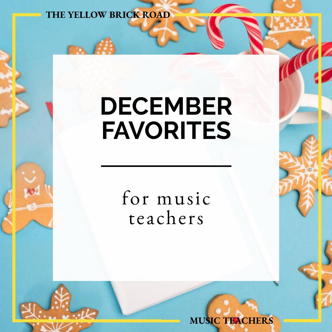 December Favorites