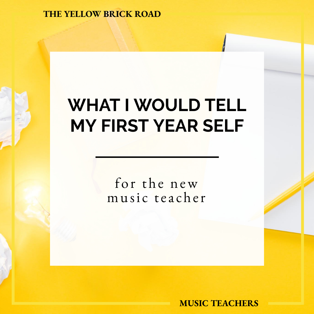 The Top 3 Things I Would Tell My First Year Teacher Self