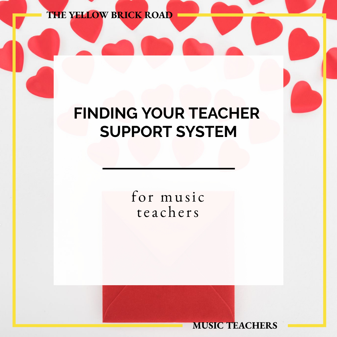 Finding Your Music Teacher Support System