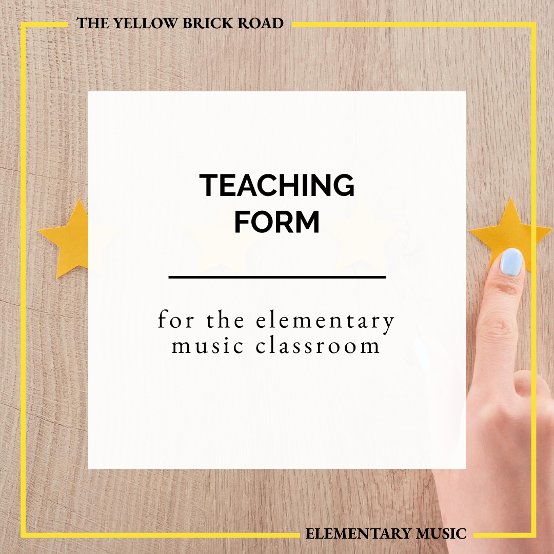 Teaching Form with Twinkle, Twinkle, Little Star