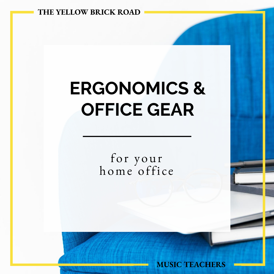 Let's Talk Ergonomics & Office Gear