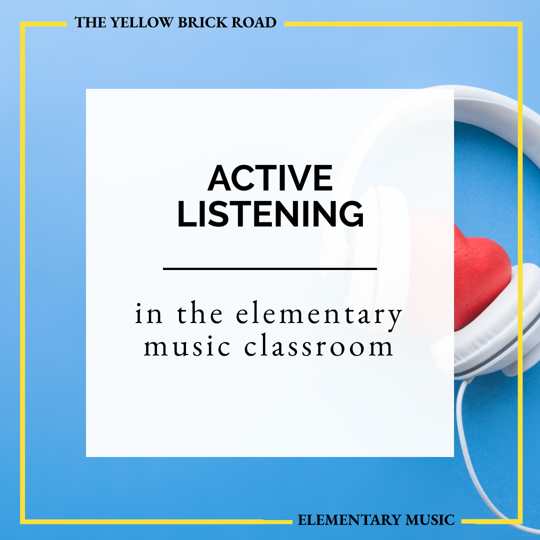 How to Encourage Active Listening in the Elementary Music Classroom