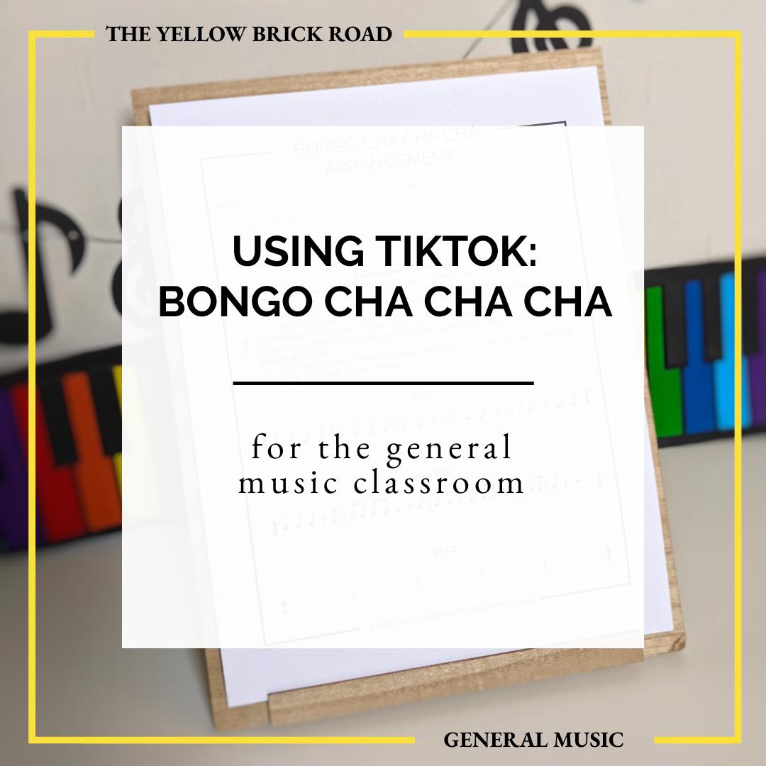 Using TikTok: Bonga Cha Cha Cha
